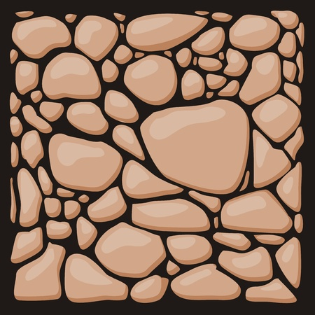 overbuilding: Rivestimento in pietra texture set. Vettoriali