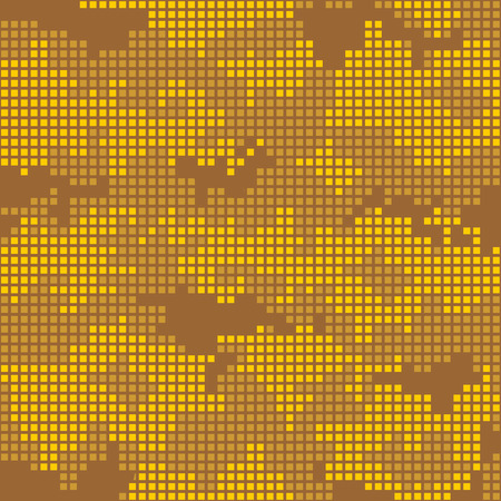 camo: Urban camo pixels seamless patterns - vector stock. Illustration