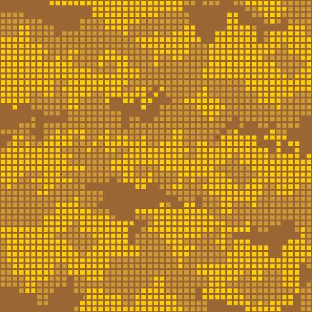 urban background: Urban camo pixels seamless patterns - vector stock. Illustration