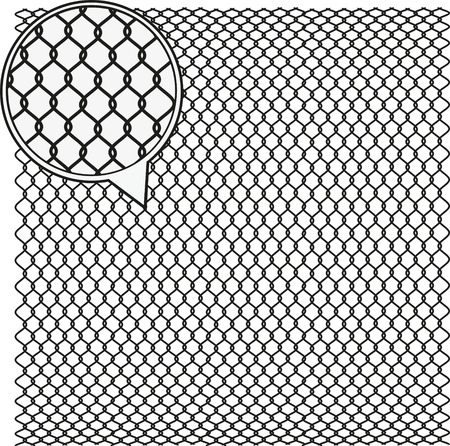 octagon: Steel Wire Texture - Octagon Background. Vector illustration.