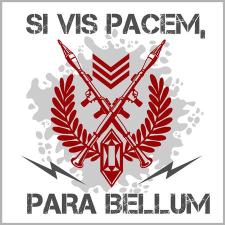 para: Si vis pacem para bellum - Soldier of Fortune Illustration