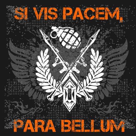 especial: Si vis pacem para bellum - Soldier of Fortune Illustration