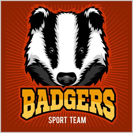 badger: Badger Sport team Logo