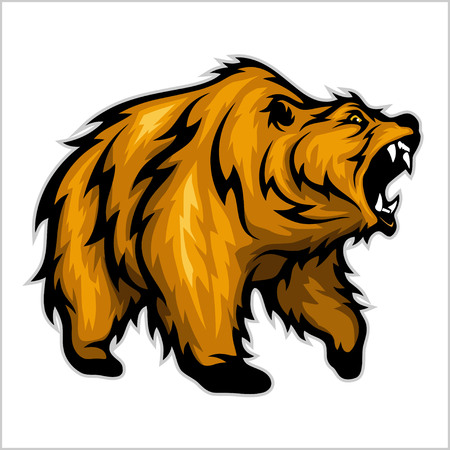 kodiak: Grizzly Bear Mascot