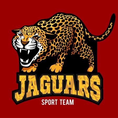 jaguar mascot - emblem for sport team