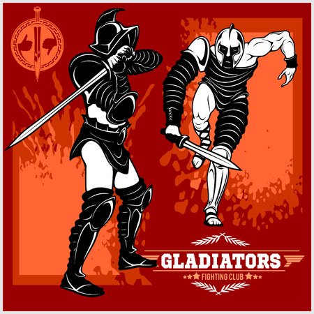 Set of gladiators