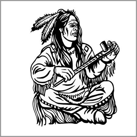 Jefe nativo americano