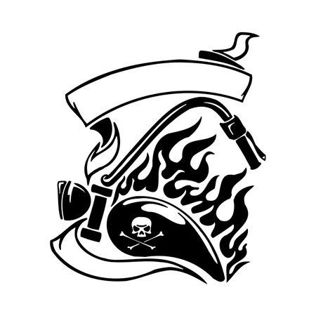 Motorcycle Logo Template - Vector Sign Bike Motor, Motorbike Automotive Rider, Clipart Vector Cut Files