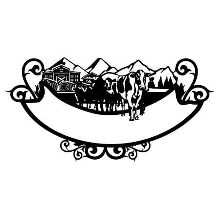 Farm Life, Farm Stencil - Silhouettes for Cricut, farmers house clipart, png Cut file, iron on, vector, vinyl shirt design. Prints design for t-shirts.