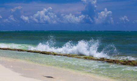 cayman: Grand Cayman Beach, Cayman Islands Stock Photo
