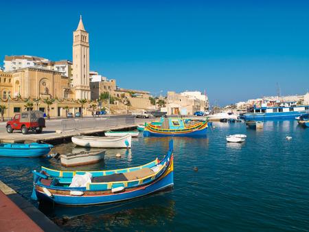 Malta harbour photo