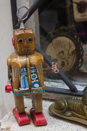 tin: tin robot for sale