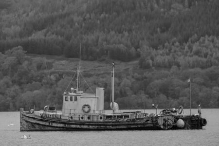 old steam boat Standard-Bild
