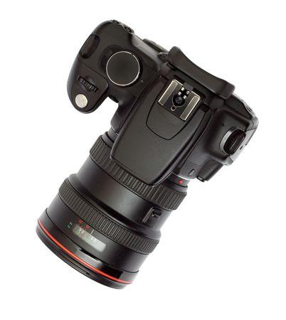 digital photocamera isolated on white