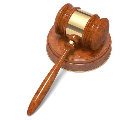 jurisprudencia: Martillo de madera