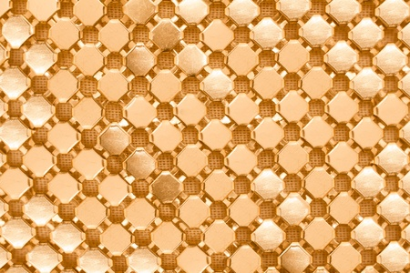 texture of gold chainmail 版權商用圖片