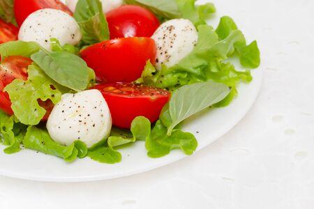 Caprese salad 版權商用圖片