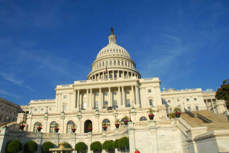 United States Capitol Building in Washington, DC Stok Fotoğraf