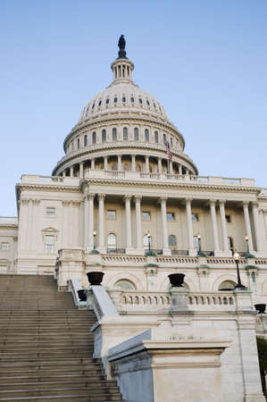 congressional: United States Capitol Building in Washington, DC Stock Photo