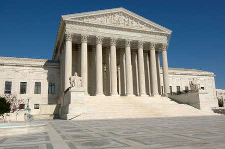 supreme court: United States Supreme Court in Washington, DC
