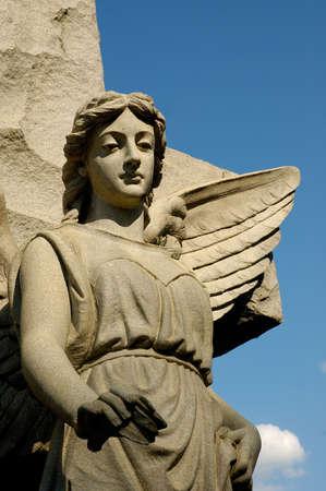 solemn: Solemn Angel Tombstone