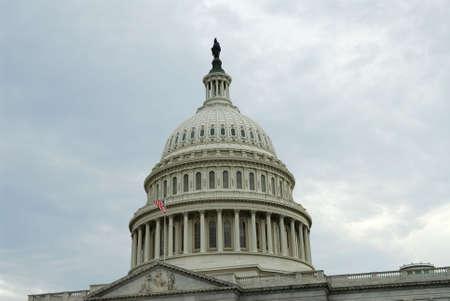 congressional: Dome of United States Captiol in Washington, DC. Stock Photo