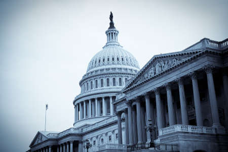United States Capitol building in Washington, DC.