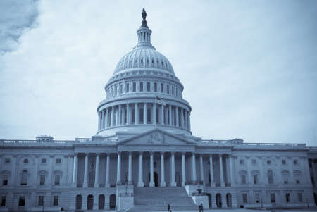 Seliniumtoned image of United States Capitol Building in Washington D.C.