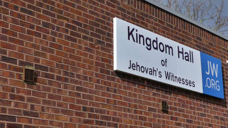 Harlow, England - 13 March 2019. The Kingdom Hall of Jehovahs Witness,