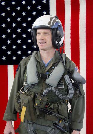 fighter pilot: Piloto de caza de la Marina de los EE.UU.