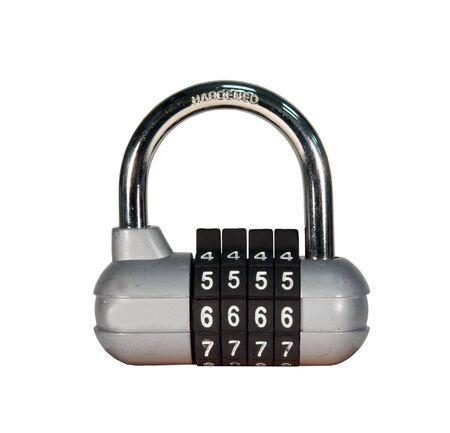 combination padlock Stock Photo - 6377017