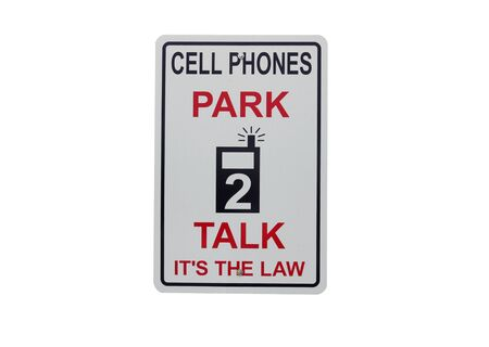 warning sign to ban cell phone Stock Photo - 7184897
