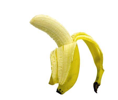 banana isolated on white Stock Photo