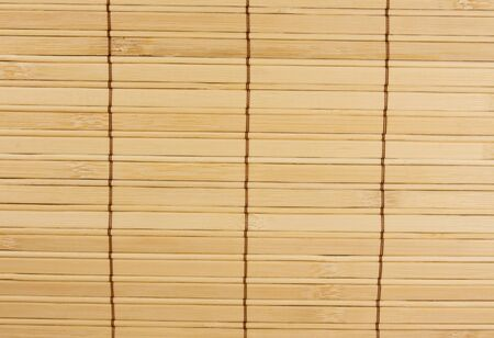 aisa: textured bamboo mat background Stock Photo