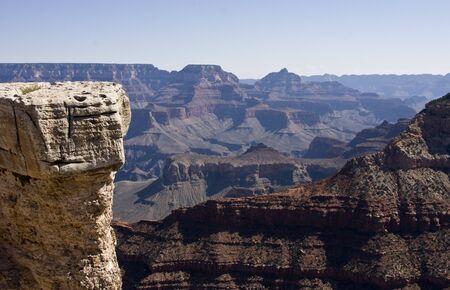 grand canyon uitzicht vanaf de South Rim in Grand Canyon National Park arizona