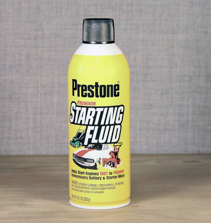 antifreeze: SPENCER , WISCONSIN - JANUARY 13, 2014  Prestone is a leading provider on Anti-freeze and car car products Editorial