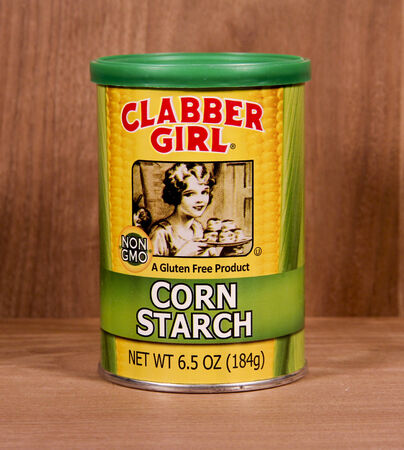 founded: SPENCER , WISCONSIN,  February, 06, 2015  Container of Clabber Girl Corn Starch. Clabber Girl was founded in 1923