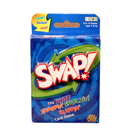 big deal: SPENCER , WISCONSIN, April, 16, 2015  Swap card game for ages 7 and up. Swap Card Game is created and distributed by Big Deal and Patch games