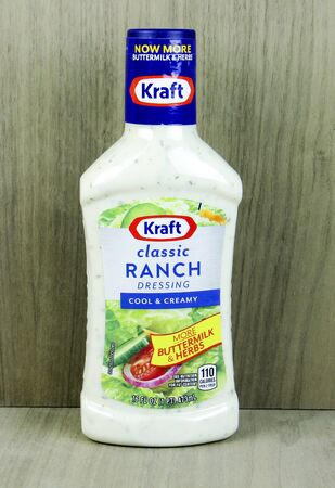 SPENCER , WISCONSIN, April, 20, 2015   Bottle of Kraft Classic Ranch Dressing, Kraft dressing is a product of Kraft Foods Group inc.