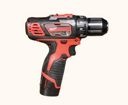 Milwaukee: SPENCER , WISCONSIN, September, 27, 2015   Milwaukee Cordless Drill  Milwaukee Electric Tool Company is based in America and was founded in 1924