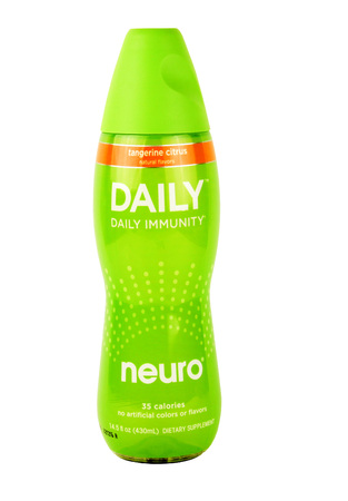 neuro: SPENCER , WISCONSIN, January,30, 2016   Bottle of Neuro Daily Immunity Drink  Neuro is a health drink created by Diana Jenkins