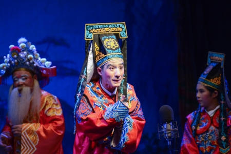 Chinese opera of Chinese Ghost Festival Stock Photo - 21487257