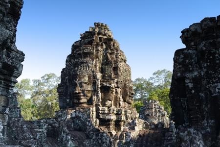 Angkor Thom  Temple of Bayon photo
