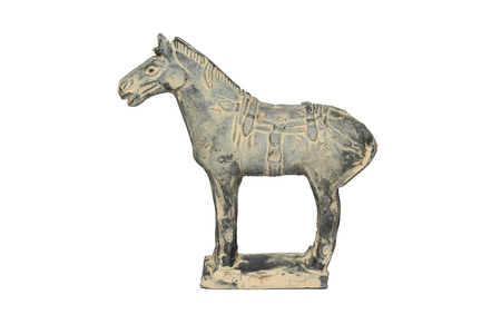 Terra Cotta horse by ancirent china photo