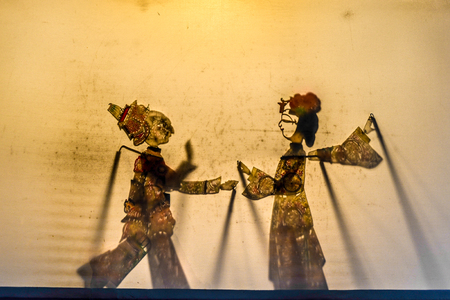 dramatic characters: Chinese folk theater art, shadow