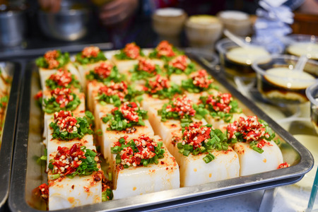 Chinese tofu food