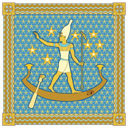 Pharaoh in the frame  Vector