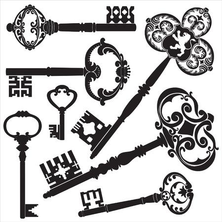 llaves: Claves de antig�edades