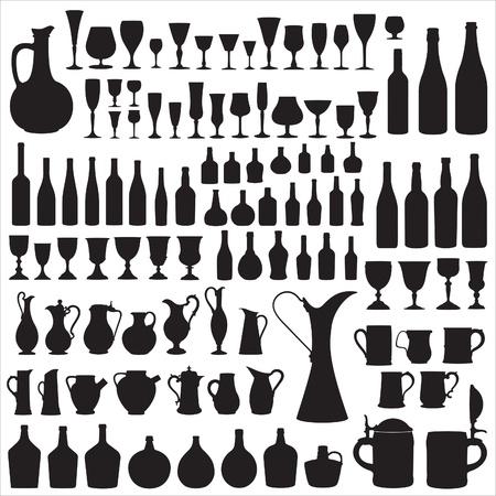weingläser: Wineware Silhouetten