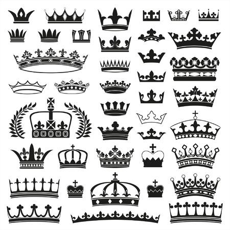 crown silhouette: CORONE collezione